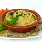 Sprouted Hummus, Original Lebanese Recipe