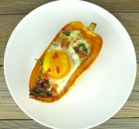 Baked-Egg-in-Squash