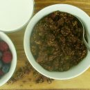 High-Protein Superfood Cocoa-Nutty Granola