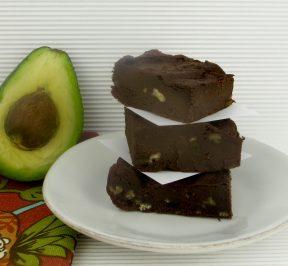 vegan-avocado-brownies