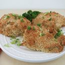 Crispy Baked Coconut Herb Chicken