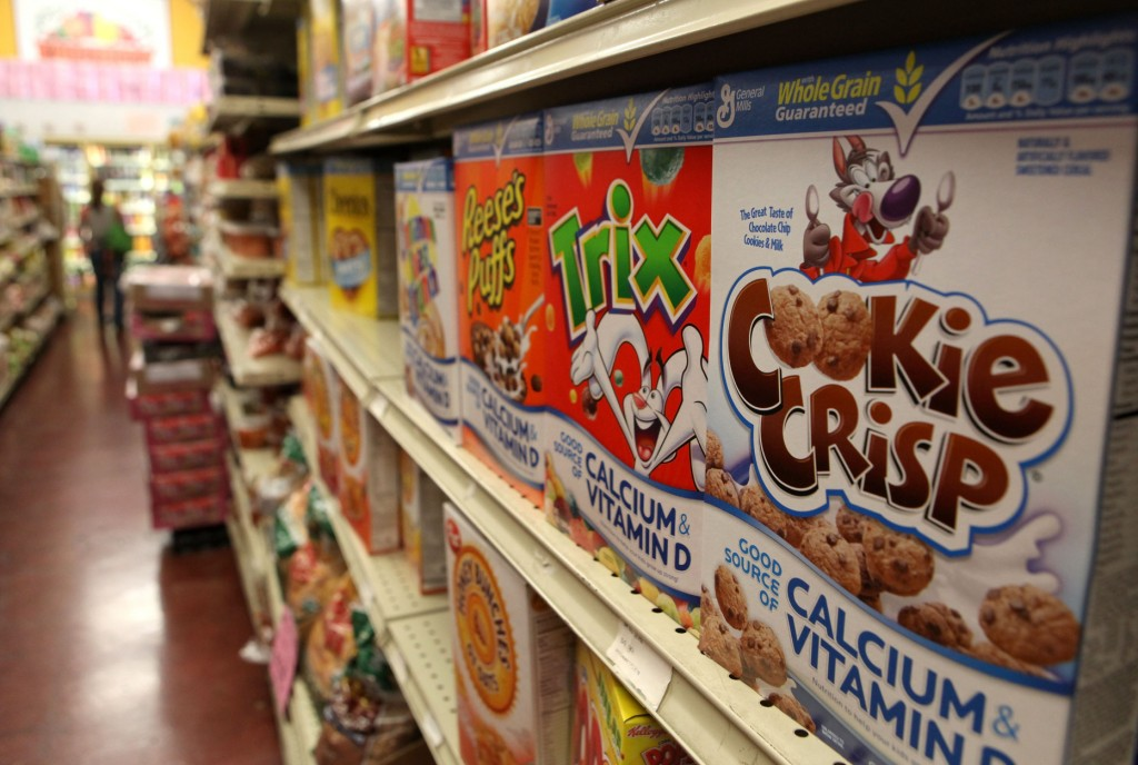 cereals-in-grocery