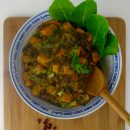 Adzuki Bean Salad with Squash